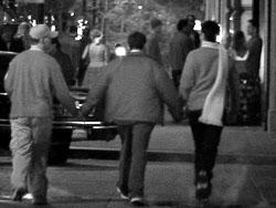 Prancing Pedestrians